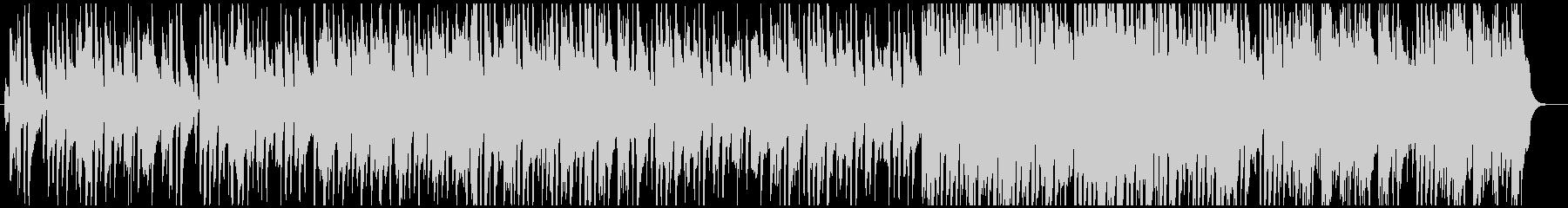 北欧系ののどかなアルペン音楽の未再生の波形