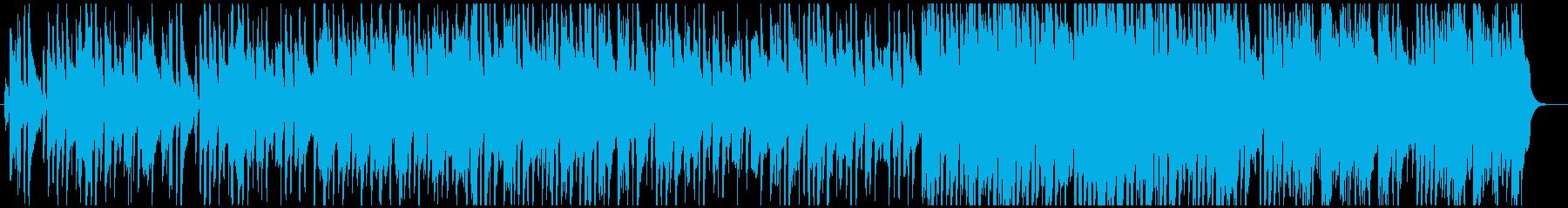 北欧系ののどかなアルペン音楽の再生済みの波形