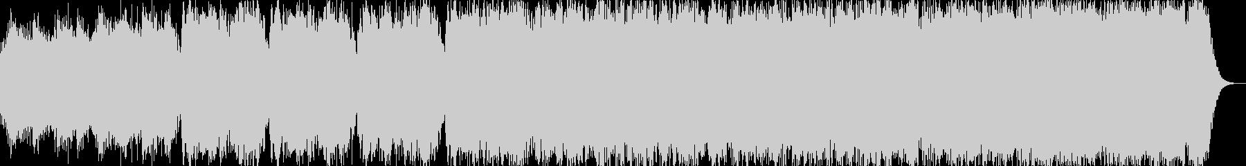 オカリナの幻想的な喜多郎風サウンドです。の未再生の波形