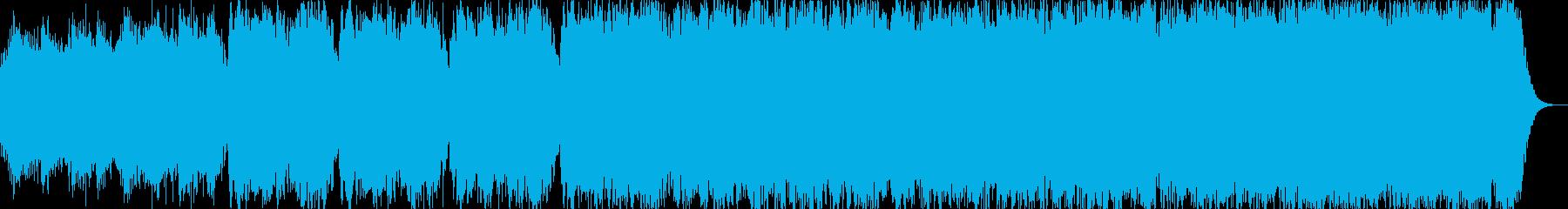 オカリナの幻想的な喜多郎風サウンドです。の再生済みの波形