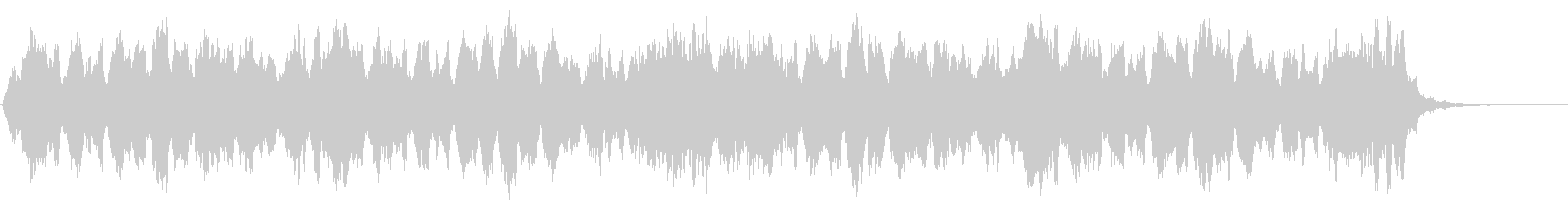 グリーンスリーブス ストリングス 低音版の未再生の波形