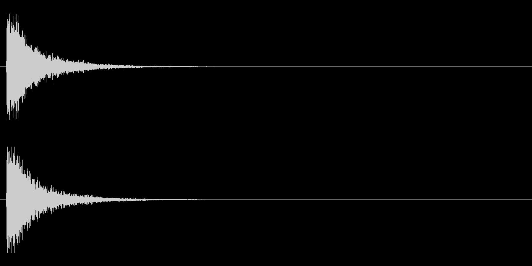 レーザー音-79-1の未再生の波形