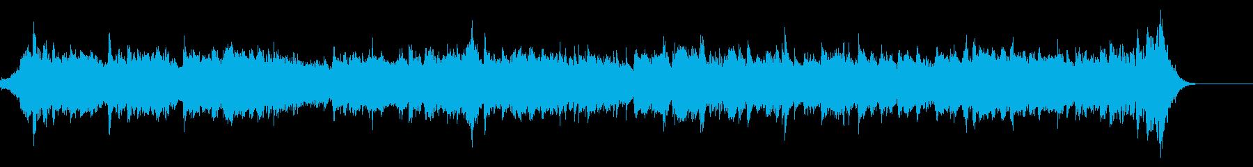 フランスっぽい「さくら さくら」の再生済みの波形