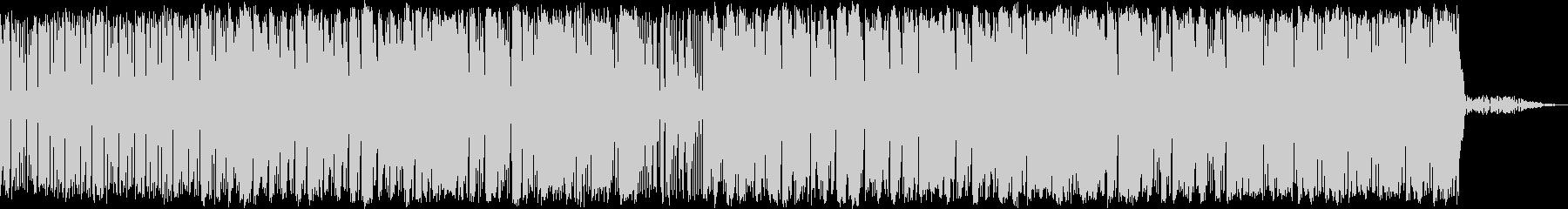 メロウなHIPHOPの未再生の波形