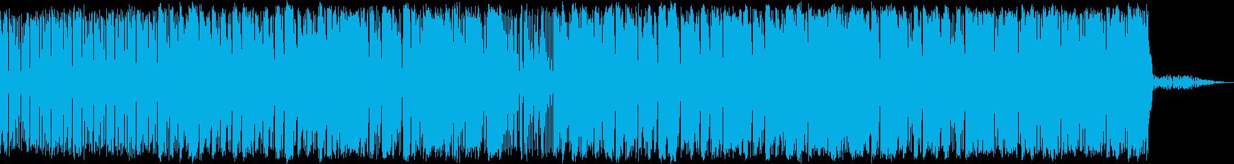 メロウなHIPHOPの再生済みの波形