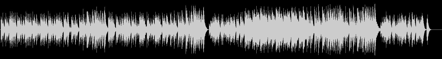 オルゴール 子供の寝顔 メルヘン 星空の未再生の波形