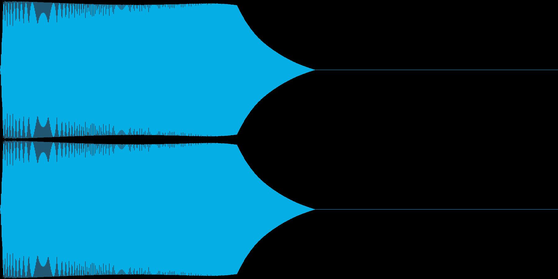 TVFX 『忘れる/とぼける』効果音 1の再生済みの波形