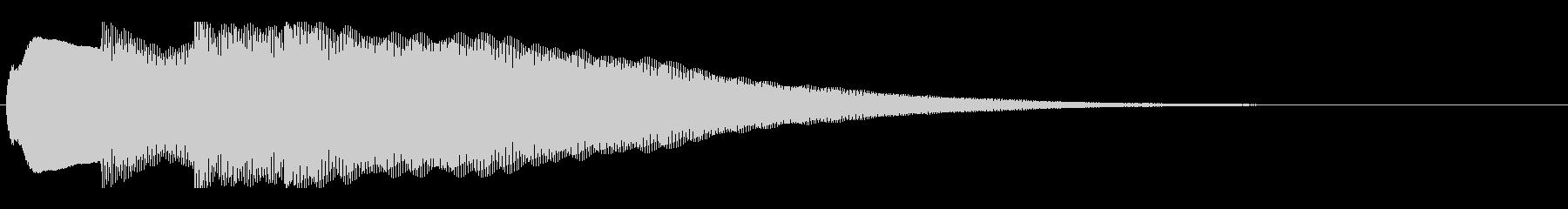 アナウンス前 チャイム-1_dryの未再生の波形
