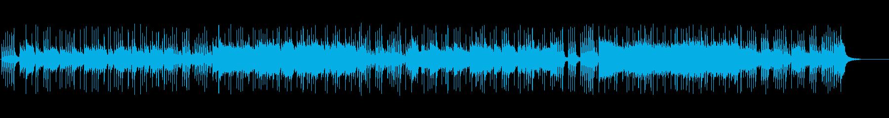 ゴージャスさを演出するバブリーな曲の再生済みの波形