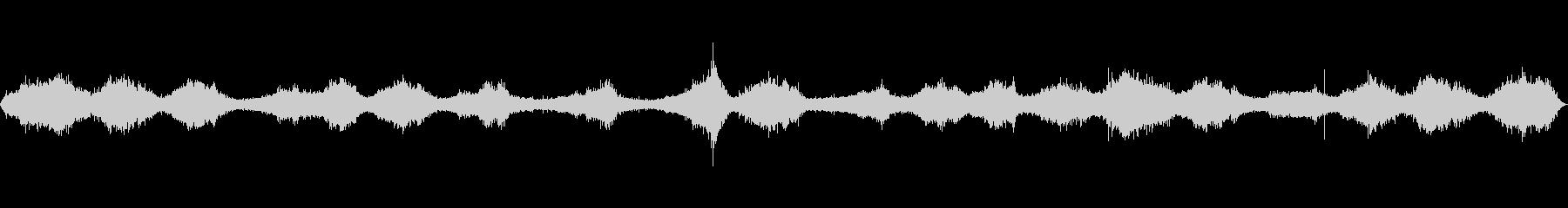 波の音~大荒れの波~岩場の波 【生録音】の未再生の波形