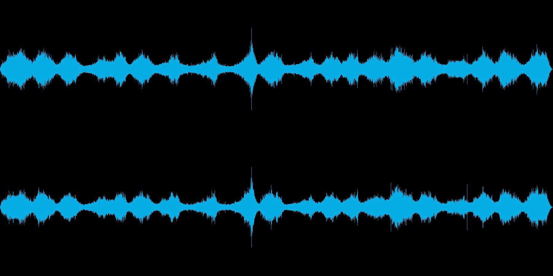波の音~大荒れの波~岩場の波 【生録音】の再生済みの波形