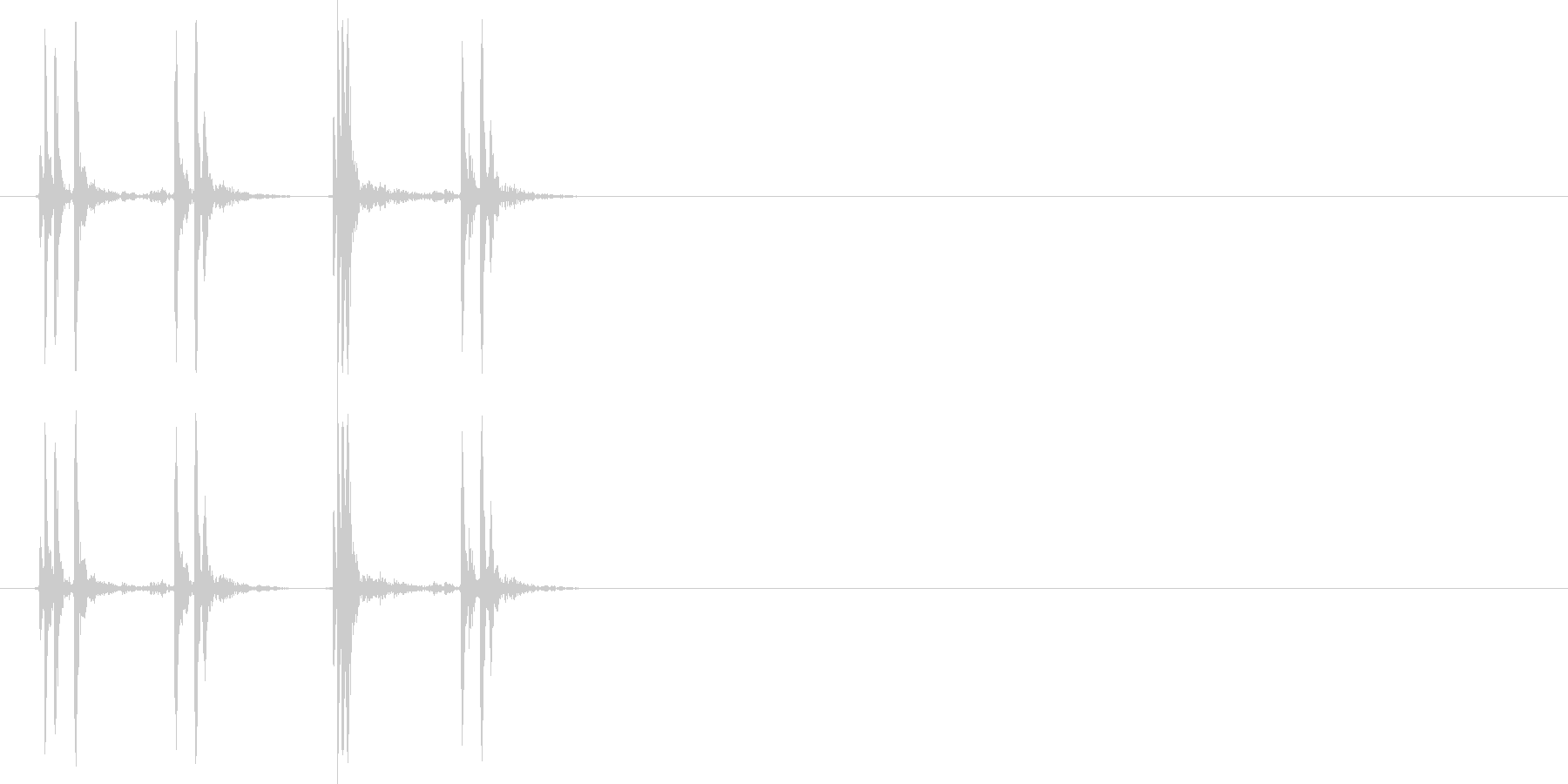 カチカチ_マウス_クリック_01の未再生の波形
