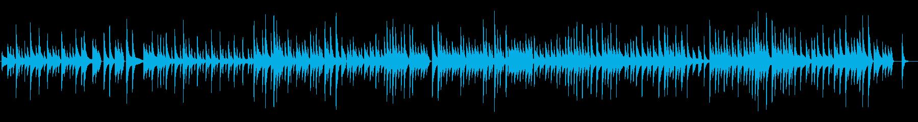 超ゆっくりなGladiolus Ragの再生済みの波形