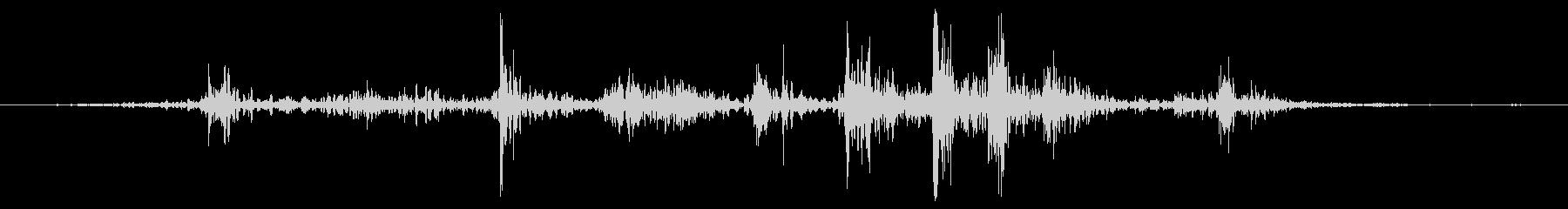 大型ハンドヘルドペーパーファン:フ...の未再生の波形