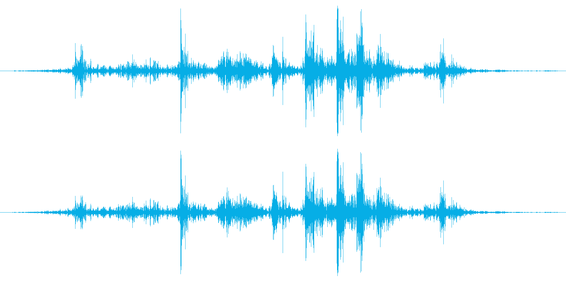 大型ハンドヘルドペーパーファン:フ...の再生済みの波形