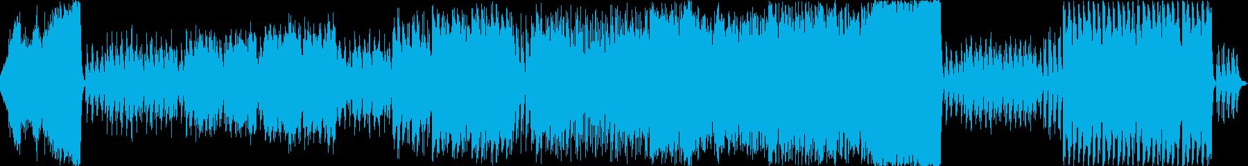 神秘的なピアノ+オーケストラ曲の再生済みの波形