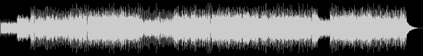 ほのぼのとしたカントリーポップBGMの未再生の波形