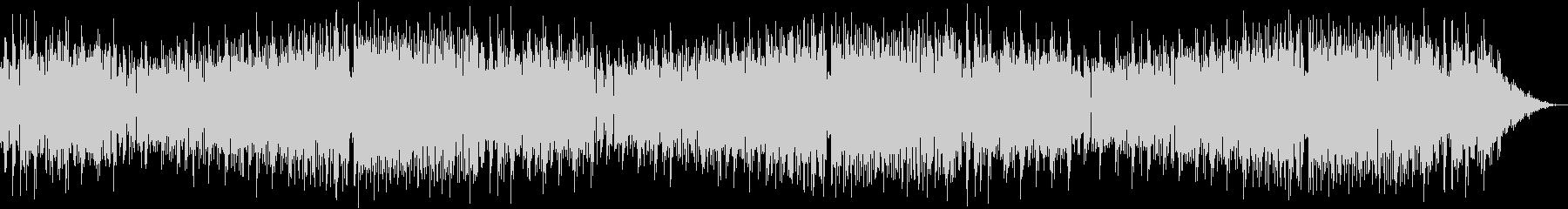 クラシック調のEDM系音楽の未再生の波形