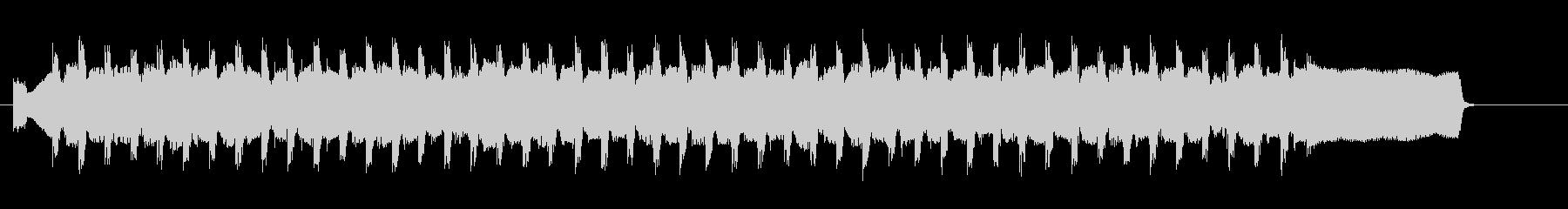 穏やかなコーポレート 30秒版の未再生の波形