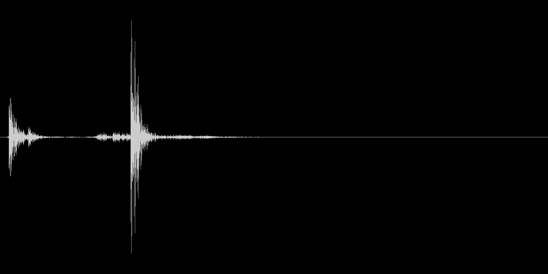 閉じる(プラスチックのケース)_3の未再生の波形