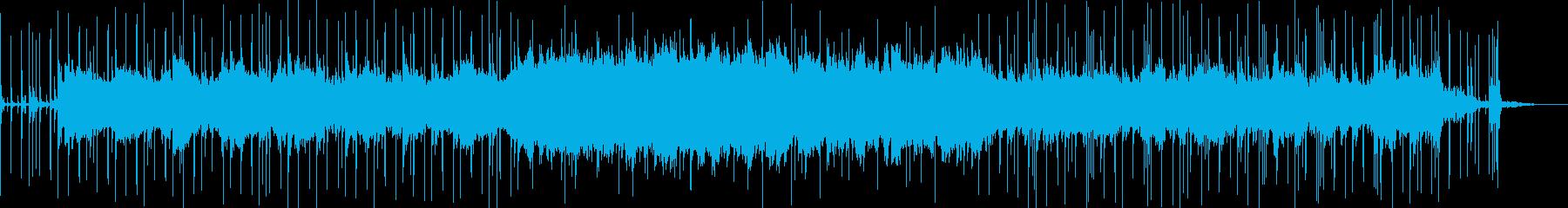 オリエンタル風の再生済みの波形