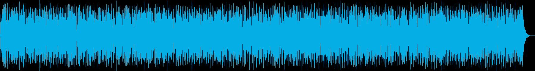 秋の気配を感じるラテンファンクの再生済みの波形