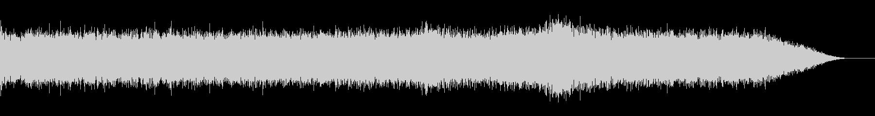 工事音(クレーン車の音)の未再生の波形