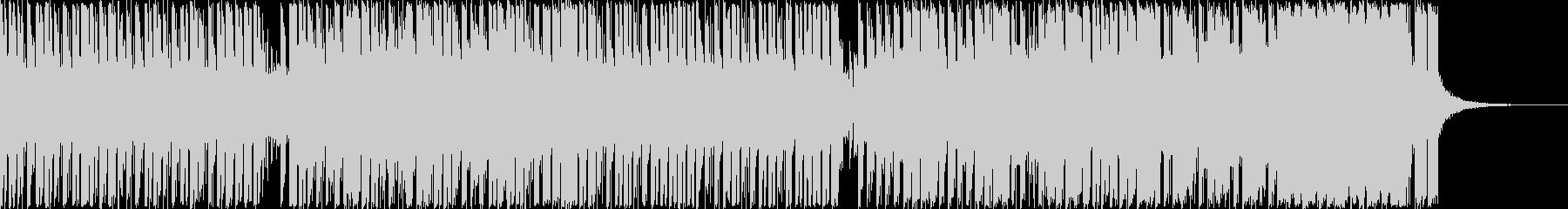 1分間クイズのベーシックテクノBGMの未再生の波形