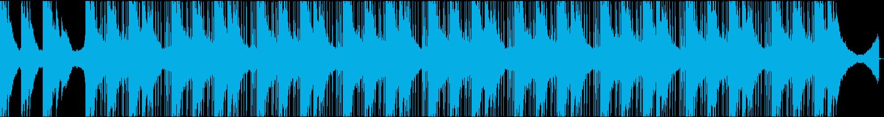 孤独でやり場のない悲しさ(ピアノ+ドラムの再生済みの波形