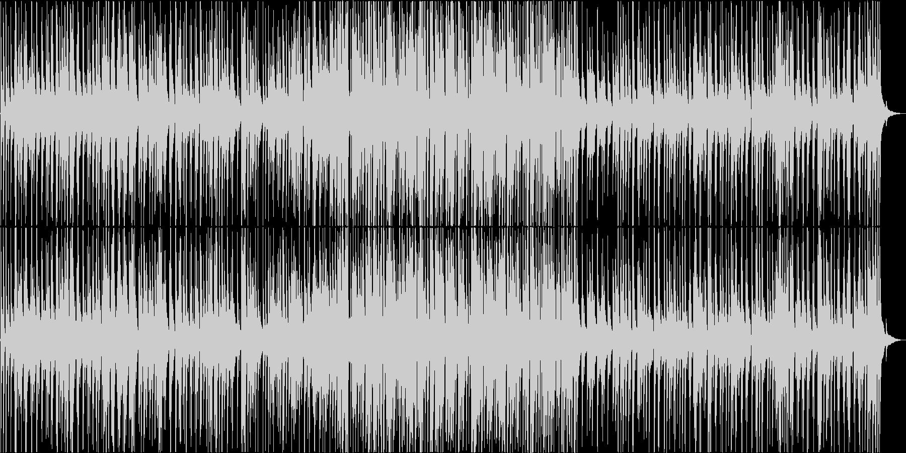 ピアノドラムベースのトラッドジャズの未再生の波形