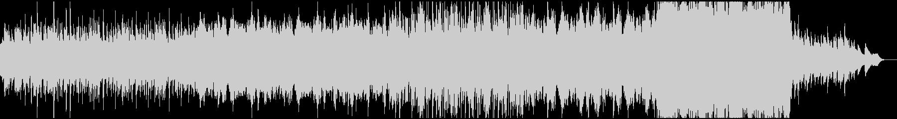 ハープと弦楽器による静かな夜想曲の未再生の波形