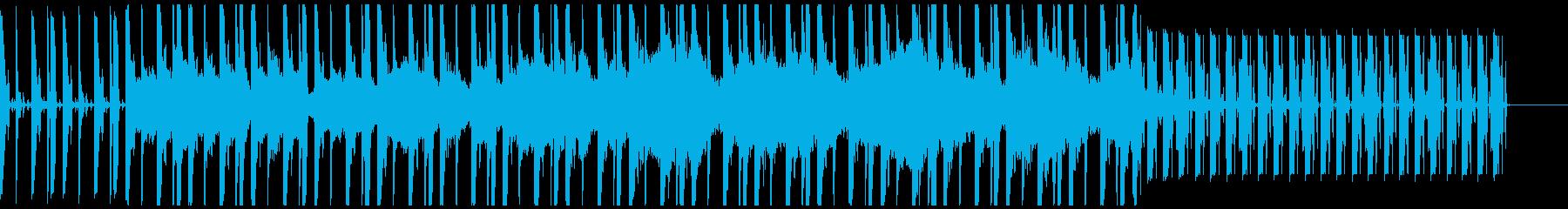 宇宙を喚起させるスペイシーなチルアウトの再生済みの波形