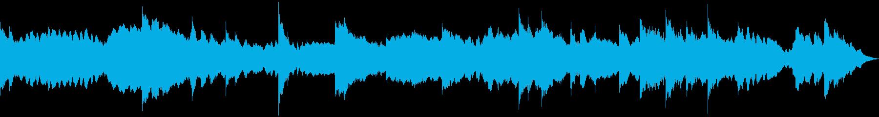 ミステリー、ホラー、BGM の再生済みの波形