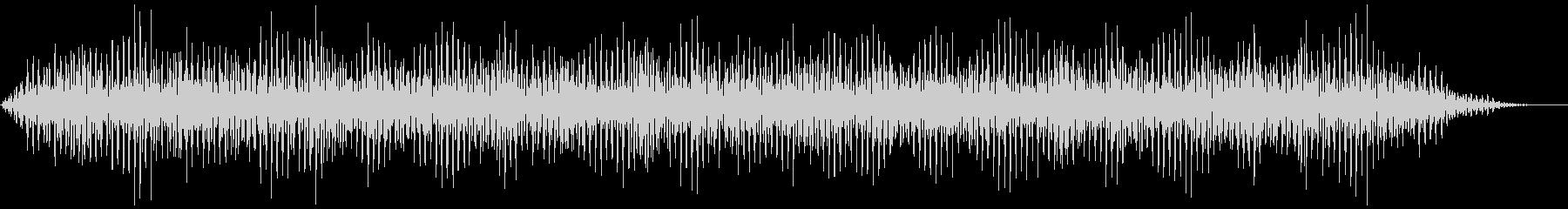背景音 不気味の未再生の波形