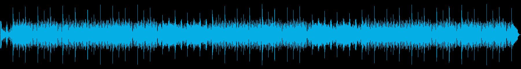 モダンなドラムループとクールなシン...の再生済みの波形