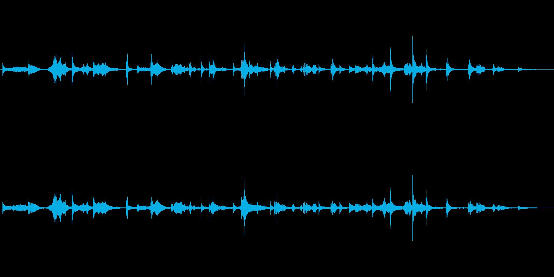 蝉丸もののけと語るの再生済みの波形