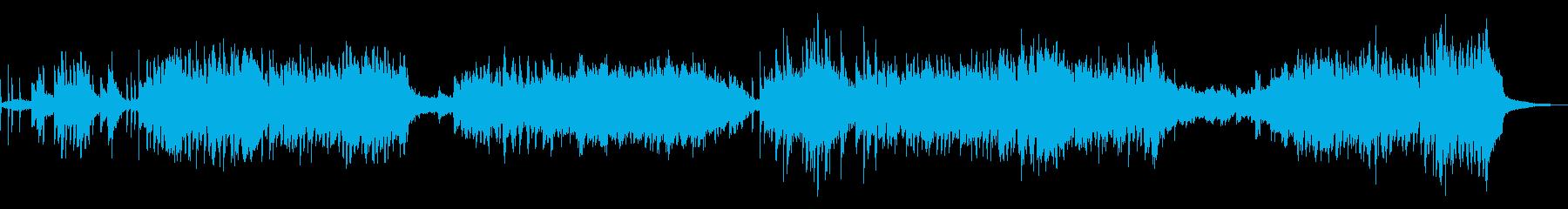ハッスルフリーフォームニューエイジジャズの再生済みの波形