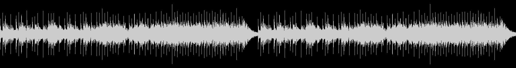 冬のフィールドBGM ループの未再生の波形