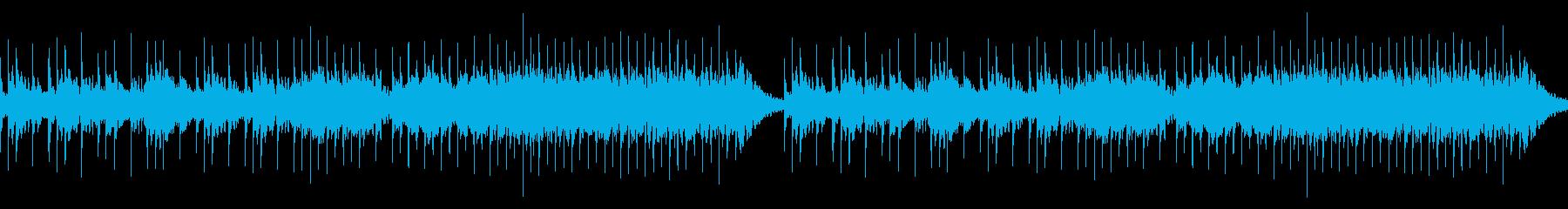 冬のフィールドBGM ループの再生済みの波形