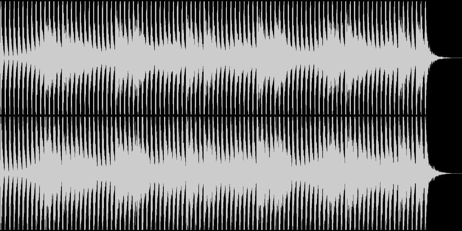 不思議な四つ打ち-Bの未再生の波形