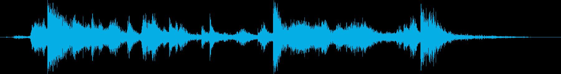メタル クラッシュミディアム01の再生済みの波形