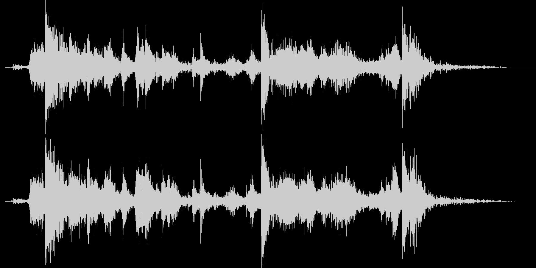 メタル クラッシュミディアム01の未再生の波形