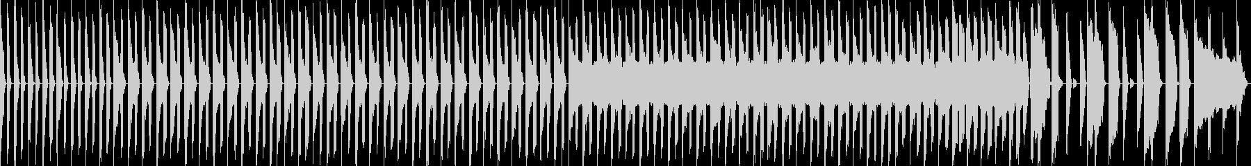 チップチューン風の行進曲の未再生の波形