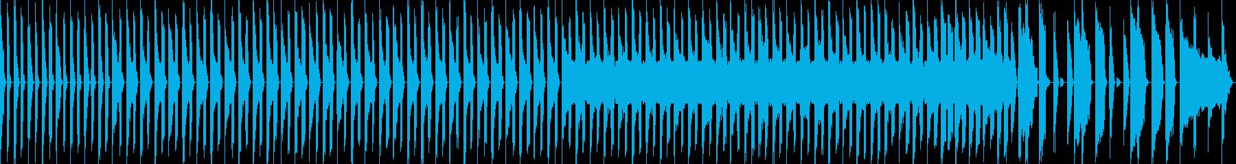 チップチューン風の行進曲の再生済みの波形