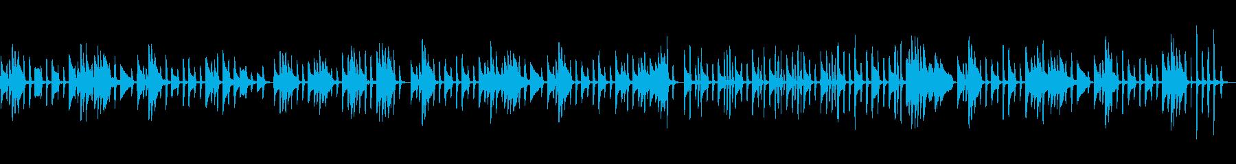 バラエティ番組風 コミカルなピアノソロの再生済みの波形