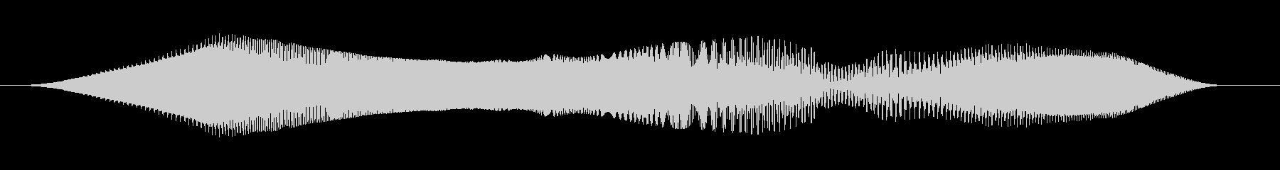 レトロスイープ、スペースシューッと...の未再生の波形