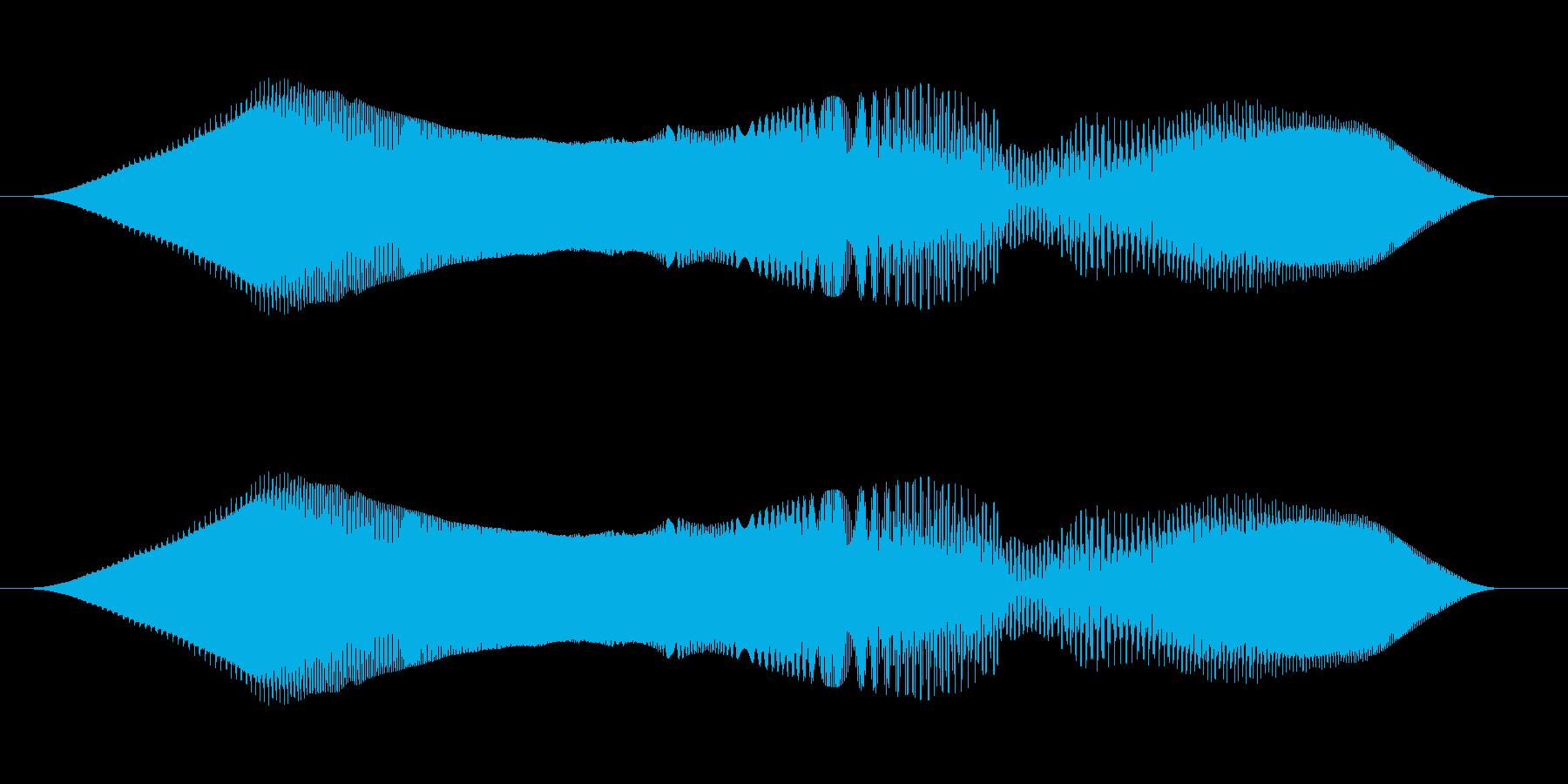 レトロスイープ、スペースシューッと...の再生済みの波形