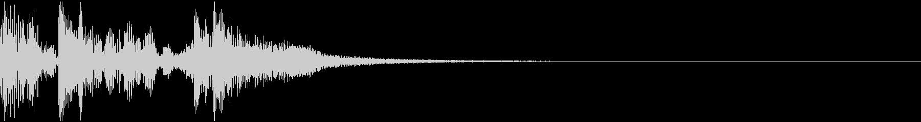 ピッピデューンの未再生の波形