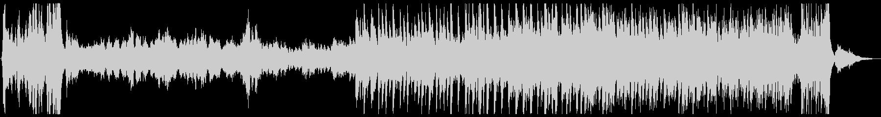 壮大なオーケストラ_ファンタジーの未再生の波形