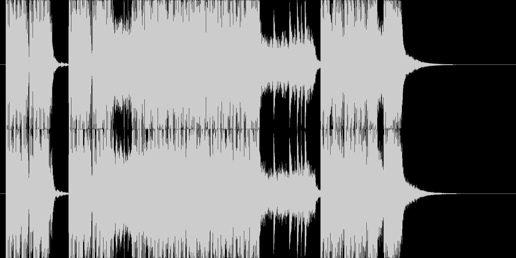剛鉄!メタル系ジングルの未再生の波形